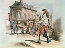 Refuse Collector, from 'Costumes of Great Britain' by William Henry Pyne