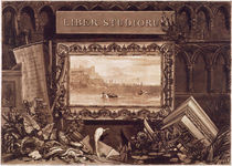 Frontispiece to 'Liber Studiorum' von Joseph Mallord William Turner