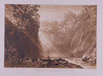 The Fall of the Clyde, engraved by Charles Turner by Joseph Mallord William Turner