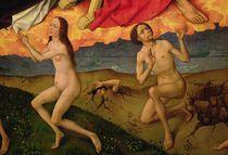 The Last Judgement, detail of the resurrection of the dead von Rogier van der Weyden