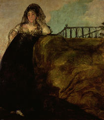 Leocadia Zorilla, the Artist's Housekeeper by Francisco Jose de Goya y Lucientes