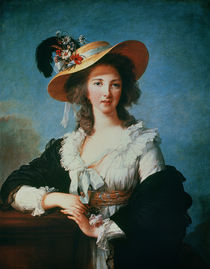 Portrait of the Duchess of Polignac by Elisabeth Louise Vigee-Lebrun