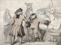 The Connoisseurs, c.1790 von Thomas Rowlandson