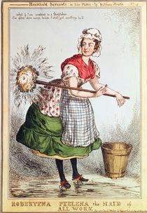 Robertena Peelena the Maid of All Work by William Heath