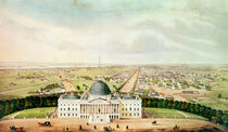 View of Washington by American School