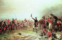 The Battle of Waterloo, 18th June 1815 by Robert Alexander Hillingford