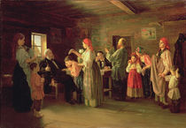 Inspection of a Childrens Home von Vasili Efimovich Kallistov