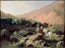 The Caucasus, 1872 by Pawel Kowalewsky