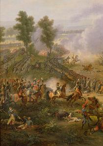 The Battle of Marengo, detail of Napoleon Bonaparte and his Major by Louis Lejeune
