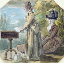Lady Francis Scott and Lady Elliot von Paul Sandby