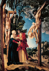 The Crucifixion, 1503 by Lucas, the Elder Cranach
