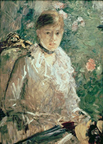 Portrait of a Young Lady von Berthe Morisot