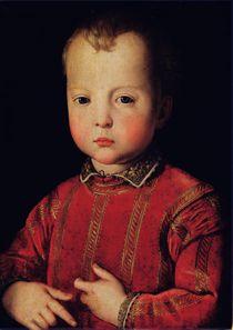 Portrait of Don Garcia by Agnolo Bronzino