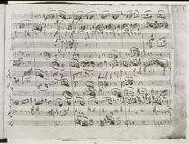Trio in G major for violin by Wolfgang Amadeus Mozart