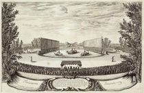 Stage on the Large Pond representing the Isle of Alcine von Israel, the Younger Silvestre