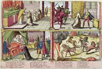 The Assassination of Henri III and the Execution of his Killer by Franz Hogenberg