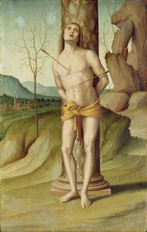 St. Sebastian von Marco Palmezzano