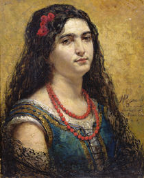 The Spanish Woman, 1870 von Henri Alexandre Georges Regnault