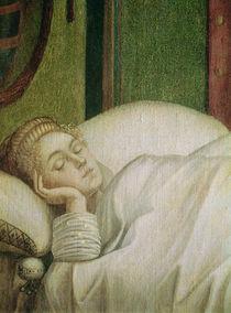 Dream of St. Ursula, 1495 von Vittore Carpaccio