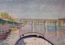 The Bridge at Asnieres, 1888 by Paul Signac