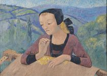 The Embroideress by Paul Serusier