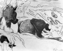 Breton Washerwomen, 1889 von Paul Gauguin