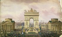 Return of the Ashes of the Emperor to Paris by Theodore Jung