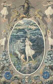 The Joy of Hunting, 1808-9 von Philipp Otto Runge