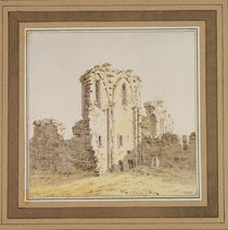 Monastery Ruins , c.1806 by Caspar David Friedrich