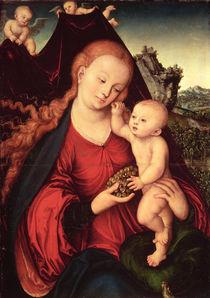 Madonna and Child by Lucas, the Elder Cranach