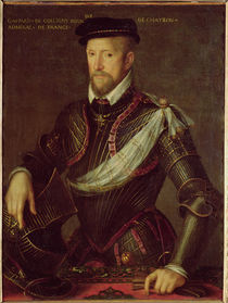 Gaspard II of Coligny Admiral of France by French School