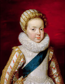 Gaston d'Orleans as a Child by Frans II Pourbus