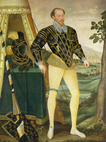 Sir William Drury, of Hawstead by English School