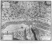 Lutetia or the first plan of Paris by French School