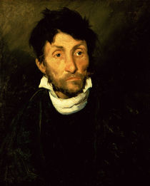 Kleptomania: Portrait of a Kleptomaniac by Theodore Gericault