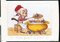 The Purifying Pot of the Jacobins by Benoit Louis Henriquez
