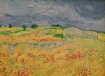 Plain at Auvers, 1890 by Vincent Van Gogh