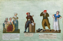The Jacobin Knitters, a Jacobin and the Red Bonnet by Lesueur Brothers