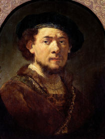 Portrait of a Man with a Gold Chain or von Rembrandt Harmenszoon van Rijn