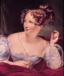Portrait of Harriet Smithson by French School