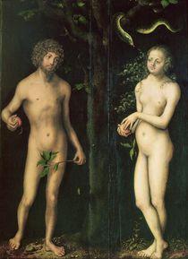 Adam and Eve by Lucas, the Elder Cranach