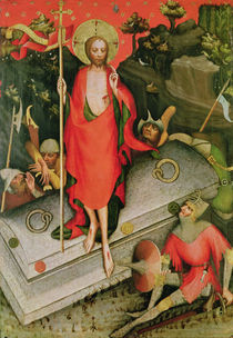 The Resurrection, c.1380 by Master of the Trebon Altarpiece