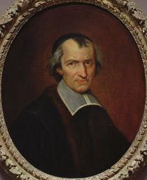 Portrait of Antoine Arnauld by Jean Baptiste de Champaigne