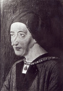 Portrait of Louis XI 1482 by French School