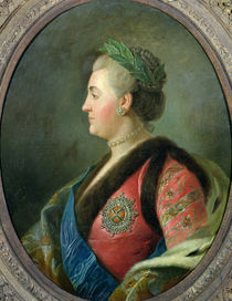 Portrait of Catherine II of Russia by French School