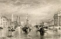 The Grand Canal, Venice, engraved by William Miller 1838-52 by Joseph Mallord William Turner
