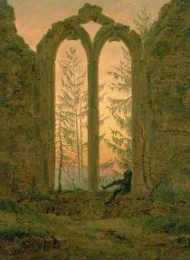 Ruins of the Oybin Monastery 1835-40 von Caspar David Friedrich