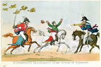 The Battle of Waterloo, 18th June 1815 von English School