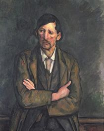 Man with Crossed Arms, c.1899 by Paul Cezanne
