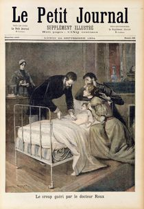 The Croup Cured by Doctor Roux by Lionel Royer